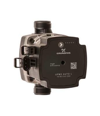 Grundfos UPM3-pumpe