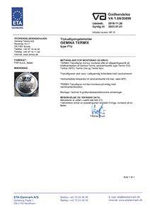 VA-1.59 Trykudligningsbeholder FTU