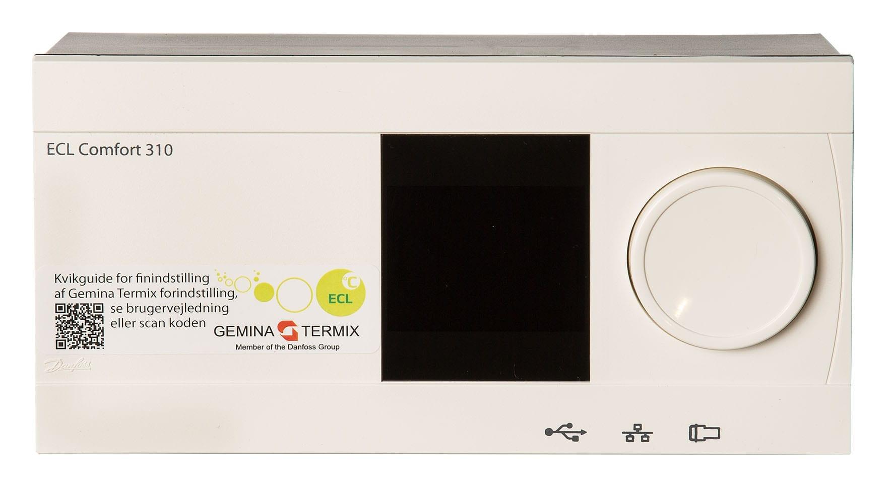Automatik Danfoss ECL 310 vejrkompensering